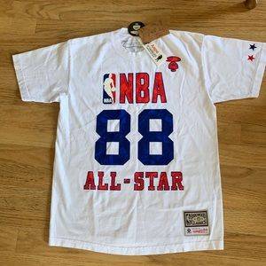 Mitchell &  Ness NBA AAPE All Star Tee NWT